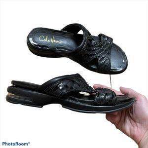 Cole Haan Nike Air Woven Sport Sandal Slides